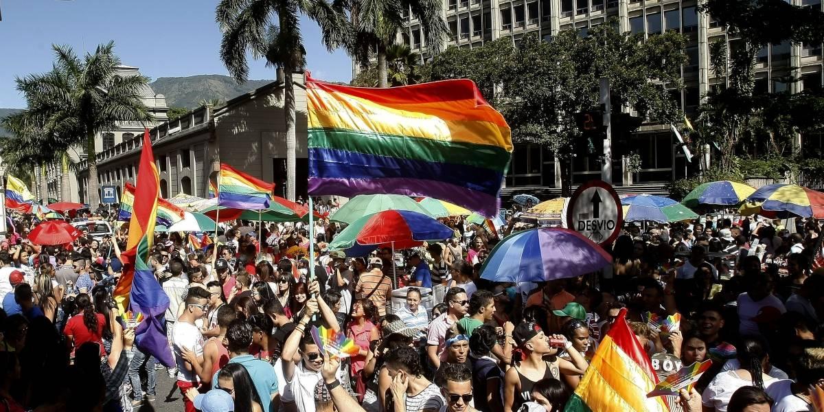 La población LGBTI marcha en Colombia por un Estado Laico