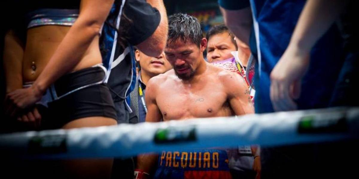 ¿Fue la última pelea del boxeador filipino Manny Pacquiao?