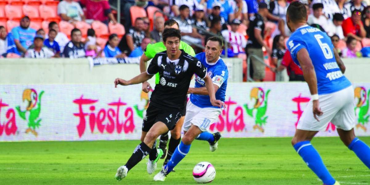 Monterrey inicia con triunfo sobre Cruz Azul su gira por Estados Unidos