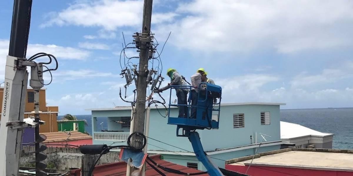 AEE mejora alumbrado en varios sectores de La Perla