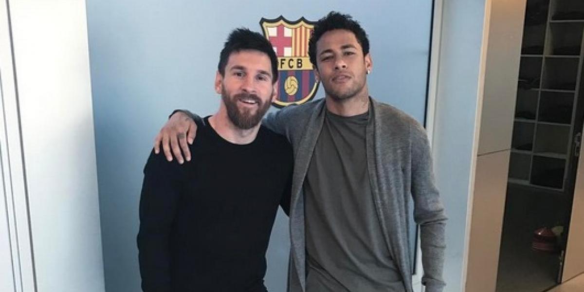Me daba vergüenza hablar con Messi: Neymar
