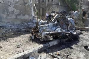 Atentado con coche bomba en Damasco, Siria