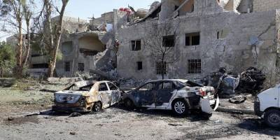 Explosión de coche bomba en Damasco, Siria