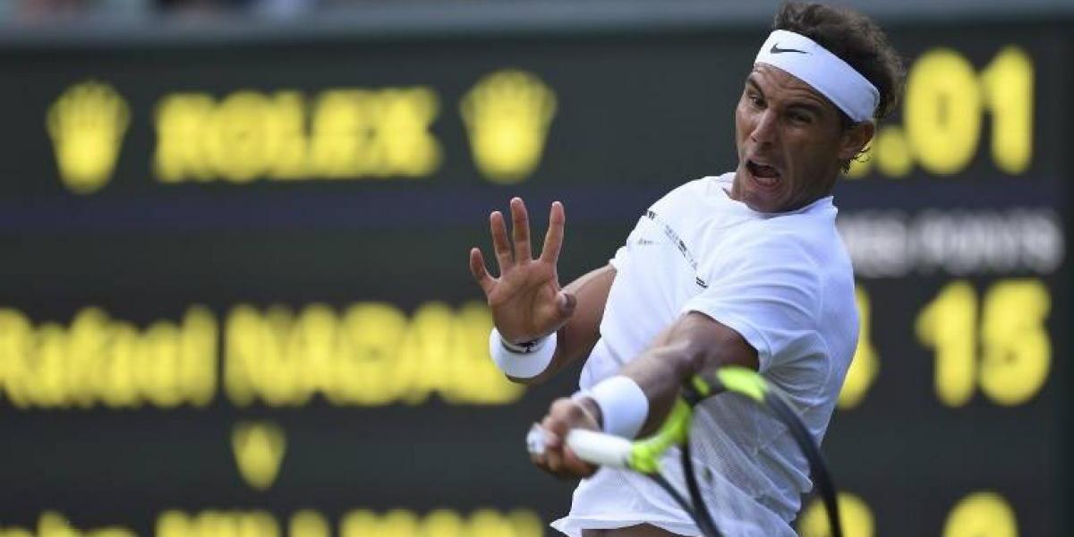 Nadal arrasa en su retorno a Wimbledon tras dos años