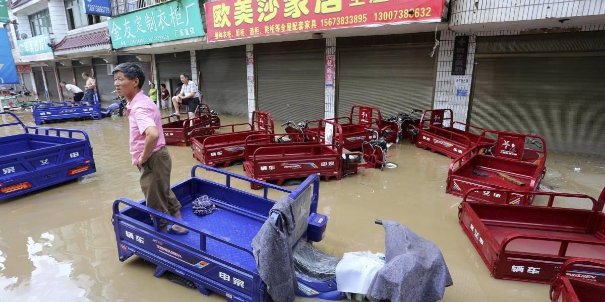 Al menos 16 muertos y un millón de afectados por inundaciones en China