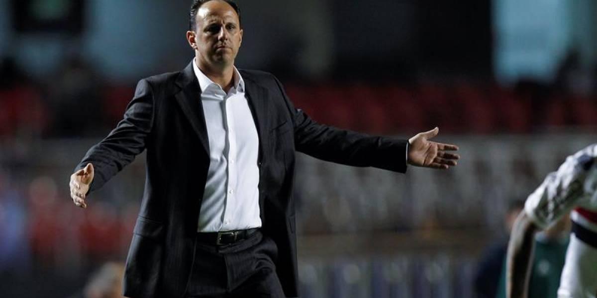 Rogerio Ceni deja de ser el técnico del Sao Paulo