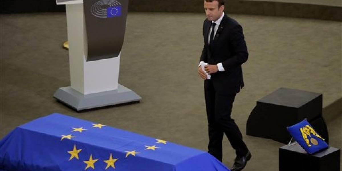 Detienen en Francia a joven que planeaba atentado contra Macron