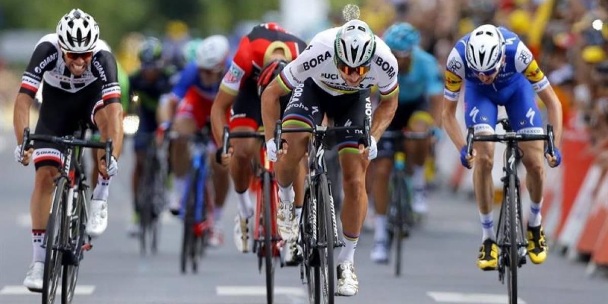 Tour de Francia: apareció Sagan y los favoritos esperan la montaña