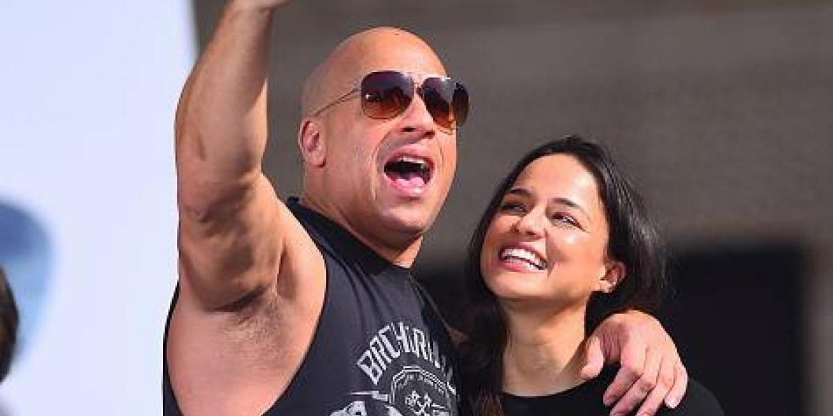 Michelle Rodriguez aclara pelea con Vin Diesel