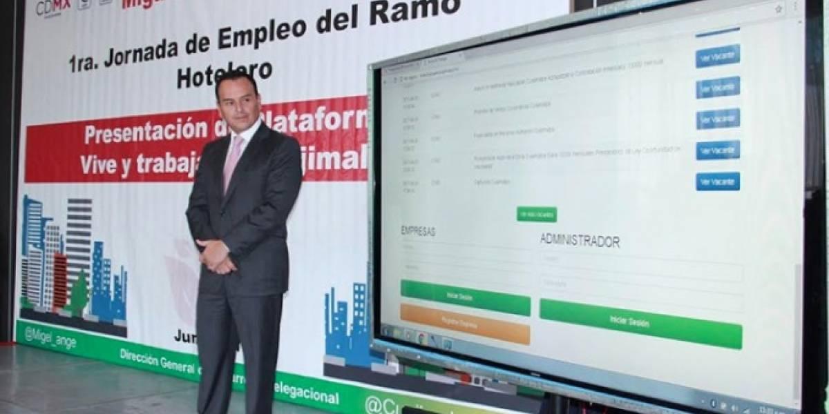 Presentan plataforma para obtener trabajo en Cuajimalpa
