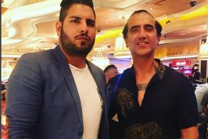 Alejandro y Ricky en Las Vegas