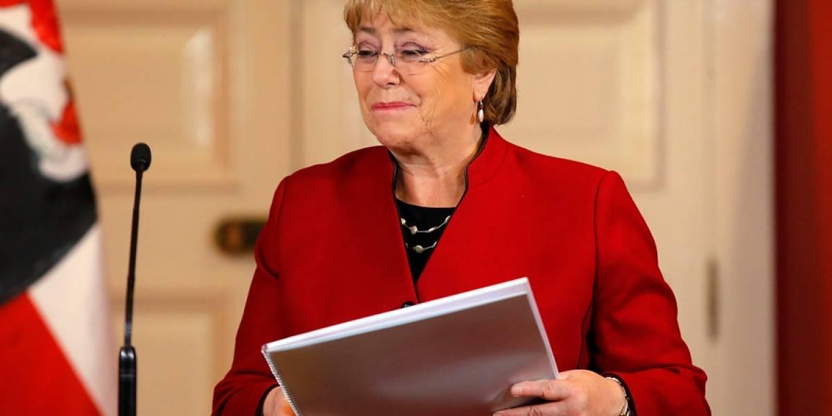 Adimark: Desaprobación a Bachelet cae al 63%, el menor valor en los últimos 26 meses