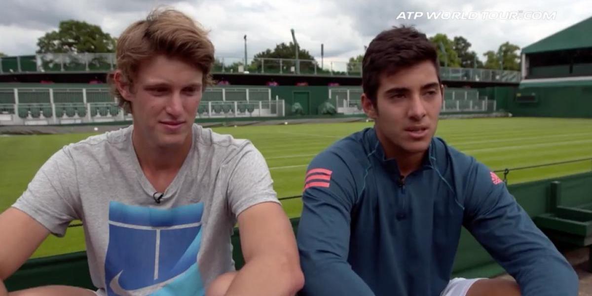 Nicolás Jarry y Christian Garín ya tienen programación para su estreno en Wimbledon
