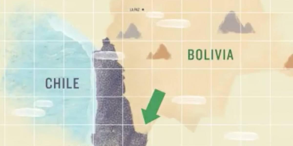 Con dibujos animados: el video con el que Chile explica las contradicciones de Bolivia sobre el río Silala