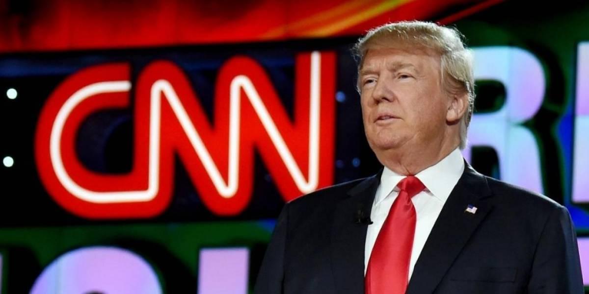 """CNN le responde a Trump por polémico video que """"incita a la violencia"""""""