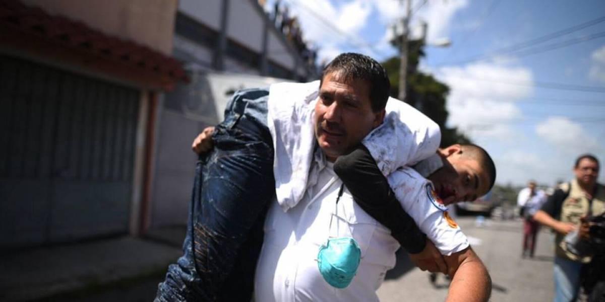 Internos de Las Gaviotas resultan heridos tras desplomarse techo