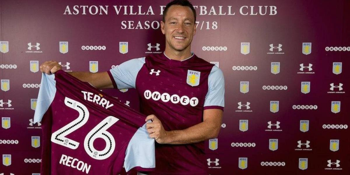John Terry se convierte en nuevo jugador del Aston Villa