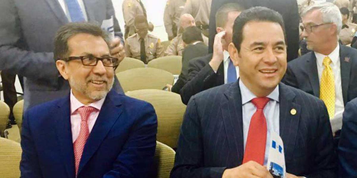 Morales le da su beneplácito a Luis Arreaga como embajador de EE. UU. en Guatemala