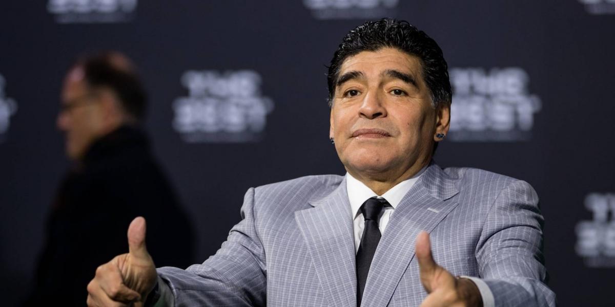 Periodista acusa a Maradona de acoso sexual