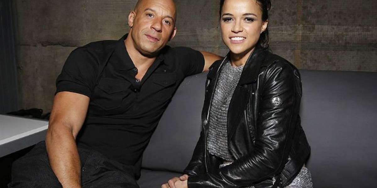 Vin Diesel reacciona tras palabras de Michelle Rodríguez de abandonar 'Rápido y Furioso'