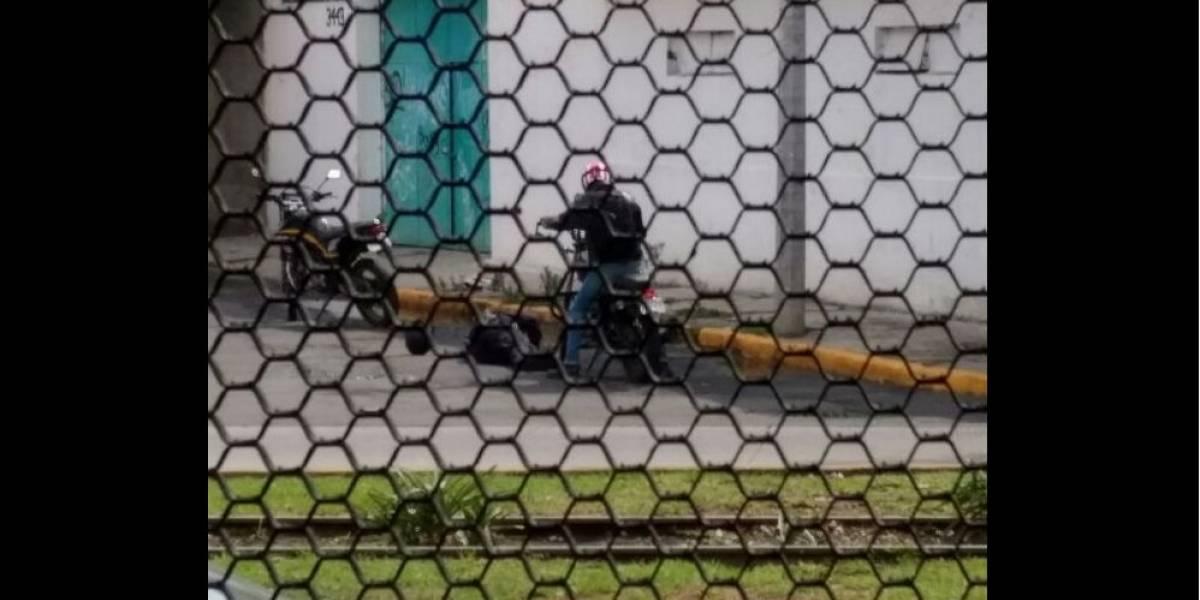 Motociclista mata a policía de la GAM de disparo en la cabeza