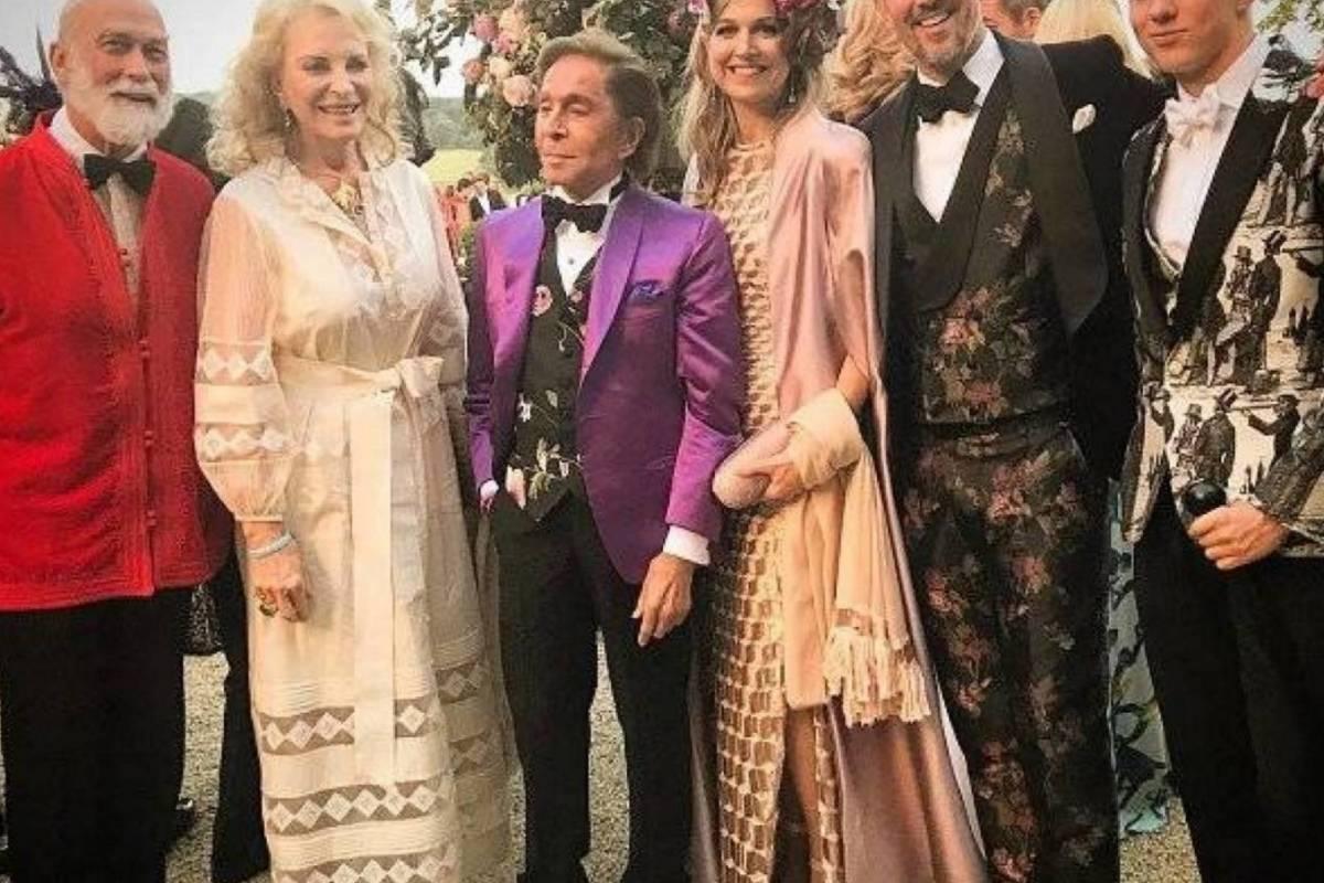 Príncipes Michael Kent, Valentino, Máxima, Pablo de Grecia y su hijo Trino Instagram