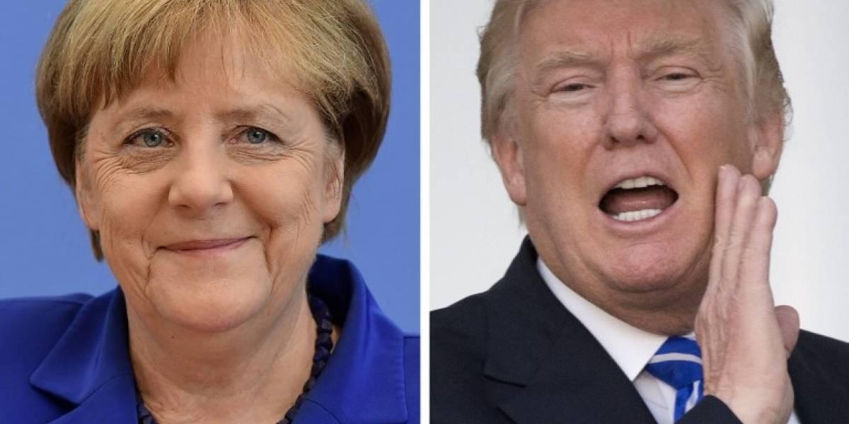 Trump y Merkel se reunirán esta semana antes del G20