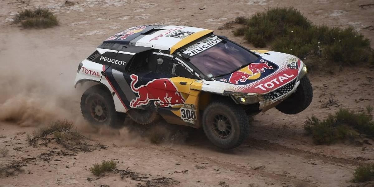 En el Rally de la Ruta de la Seda, Peugeot estrena la evolución del 3008DKR