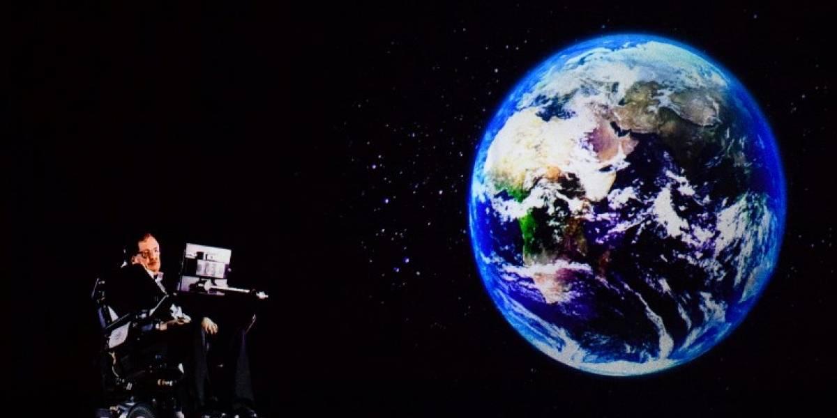 """""""Hay que comenzar a evacuar la Tierra en los próximos 30 años"""", advierte Stephen Hawking"""