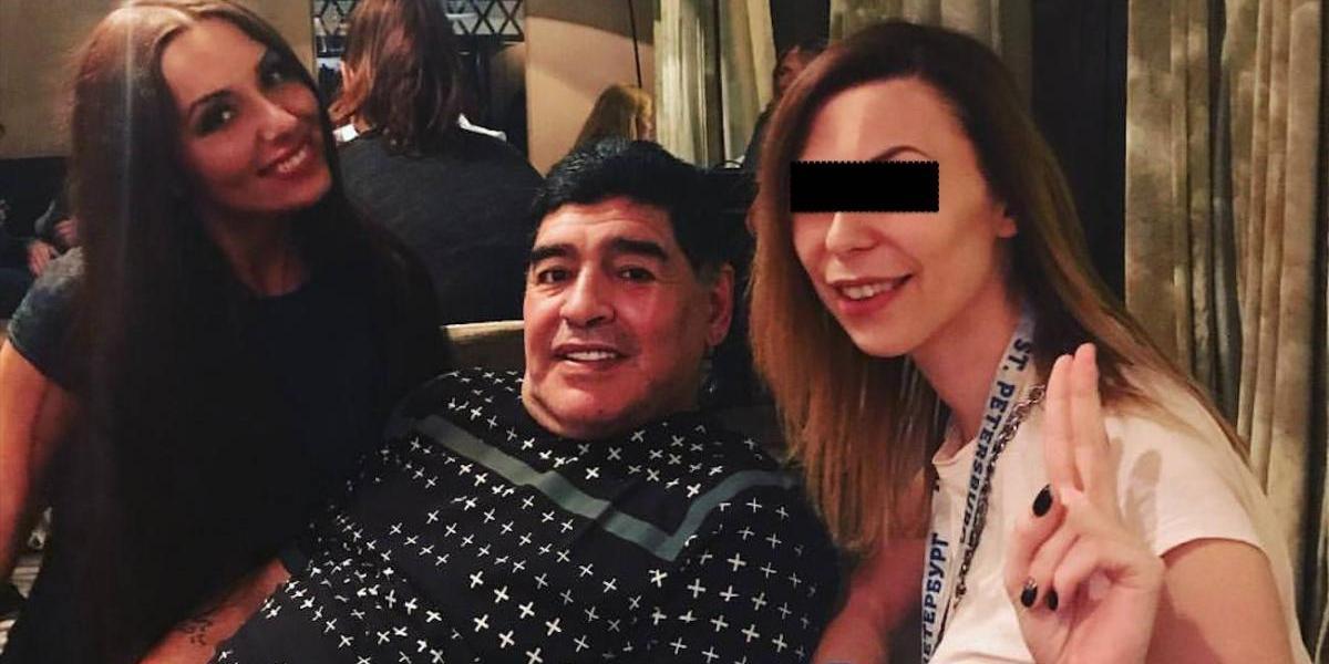 El nuevo escándalo sexual de Maradona