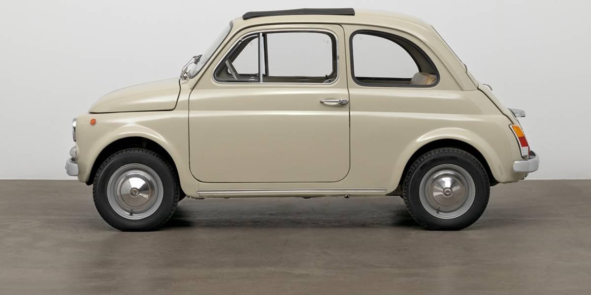 Fiat 500 completa 60 anos e ganha exemplar especial em Nova York