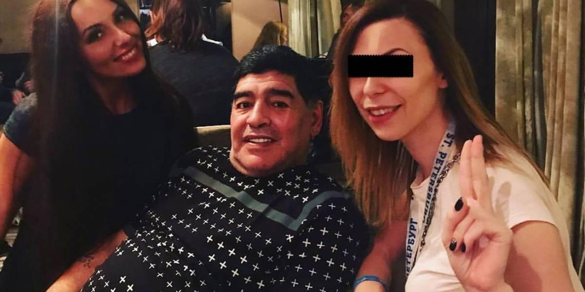 """La periodista involucrada en el último escándalo sexual de Maradona: """"Estaban tirándome dinero en la cara"""""""