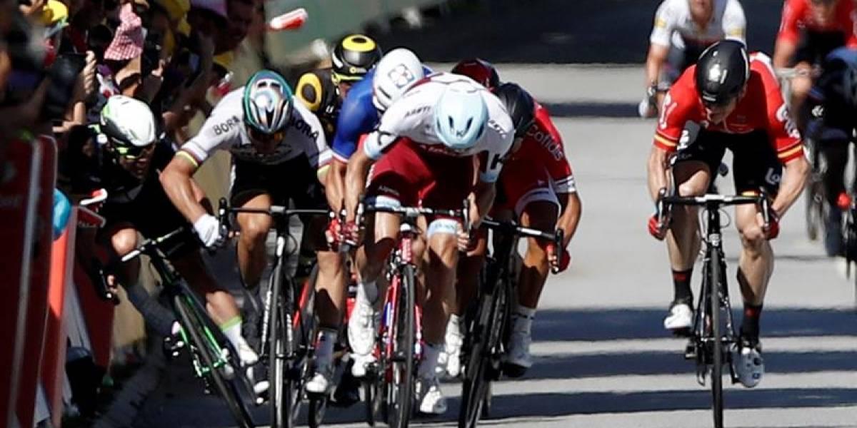 Peter Sagan expulsado del Tour de Francia