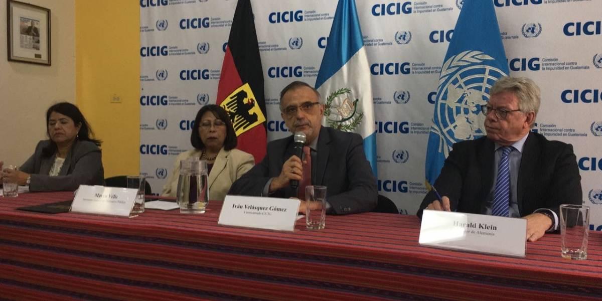 Alemania reitera su apoyo a la CICIG y le entrega contribución de Q3 millones