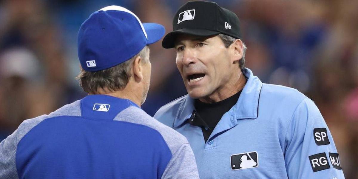 Umpire demanda a la MLB por discriminación racial
