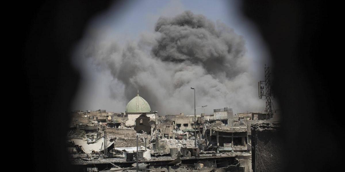 """El grupo Estado Islámico lucha """"a muerte"""" en Mosul, dice un mando iraquí"""