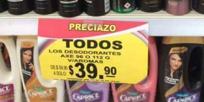 Tras error en anuncio, joven compra 235 desodorantes por 39.90 pesos
