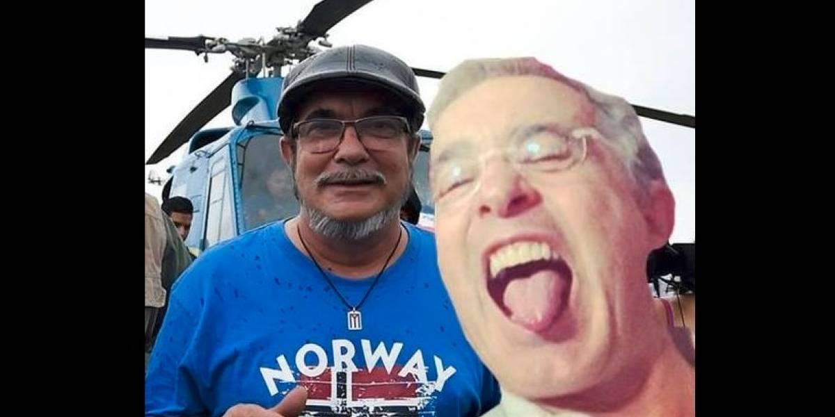 Esta es la aplicación con la que usted podrá tener una 'selfi' con Álvaro Uribe