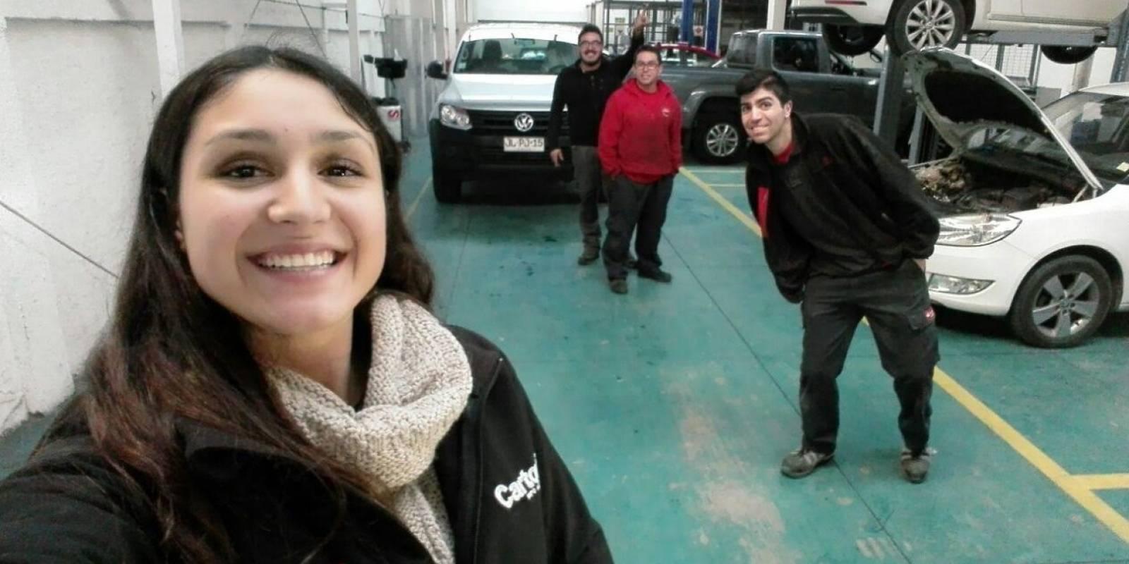 Pilar Aranda/mecánica automotriz
