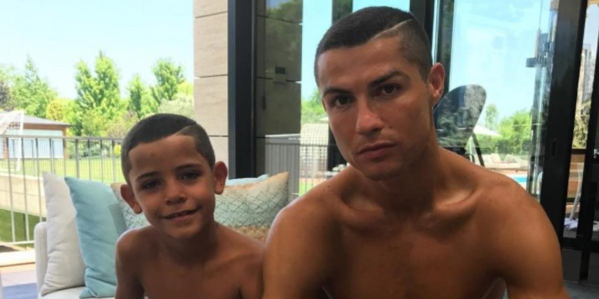 Cristiano comparte la foto más tierna de sus tres hijos pero…