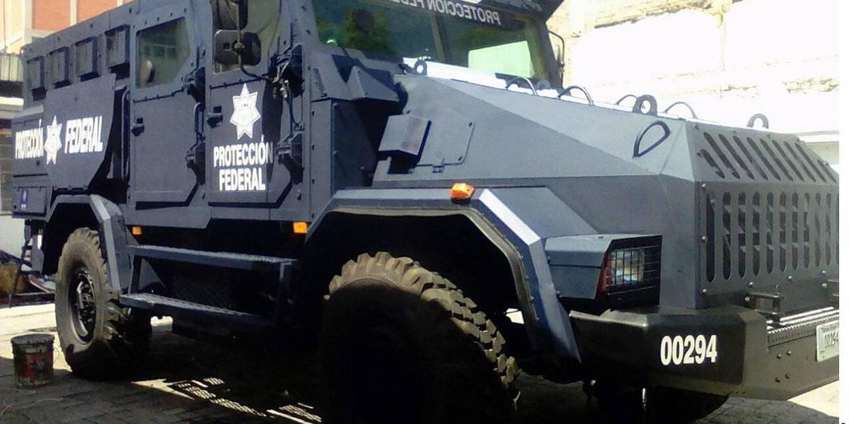 Policía Federal presenta su 'mamut' que trasladará reos peligrosos