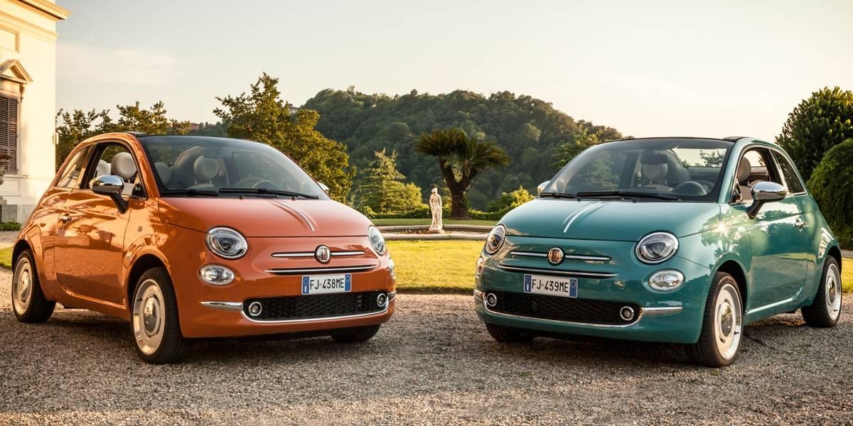 FCA celebra 60 anos do Fiat 500 em feira italiana
