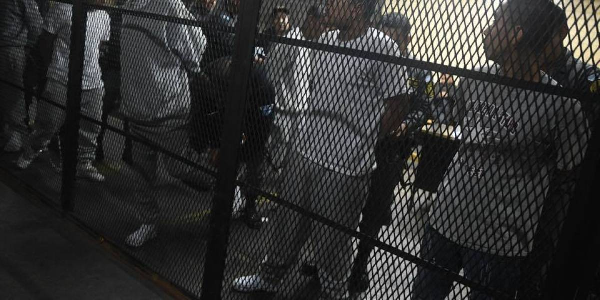 Involucrados en motín en Las Gaviotas continúan en Tribunales
