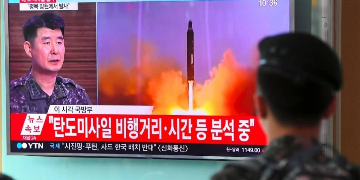 EN IMÁGENES. Así fue el polémico lanzamiento de misil de Corea del Norte