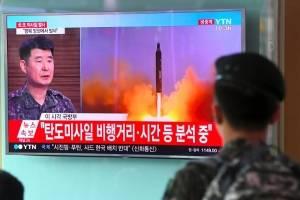 Observan lanzamiento de misil en Corea