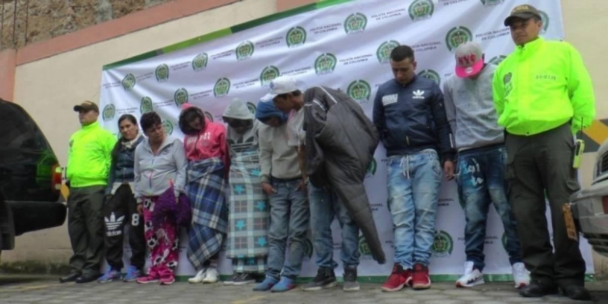 Capturan a banda que robaba carros en Cali y los cambiaba por droga en Cauca