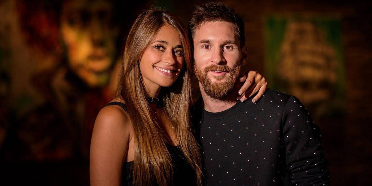 FOTO: Esposa de Messi confirma su tercer embarazo