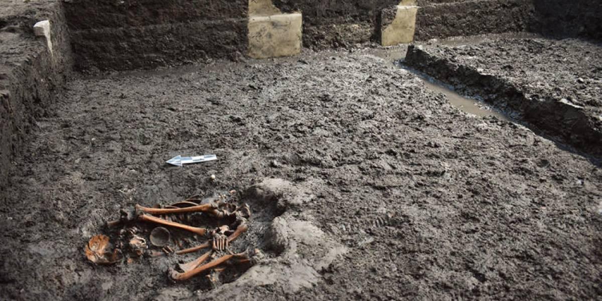 Arqueólogos descubren recinto de mexica en Centro de Ciudad de México