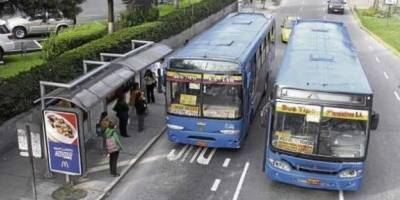 En Quito, transportistas anuncian paro este martes