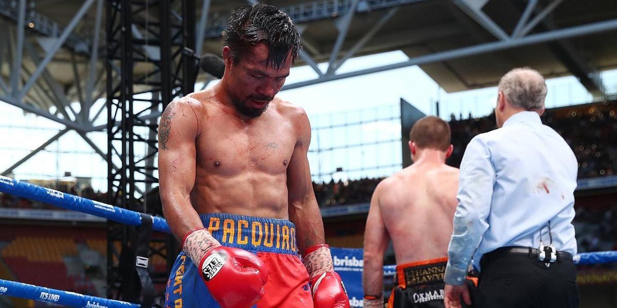 ¿Qué le queda sobre el ring a Manny Pacquiao?